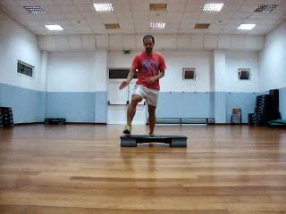 Coreografia step avançado - Fitness