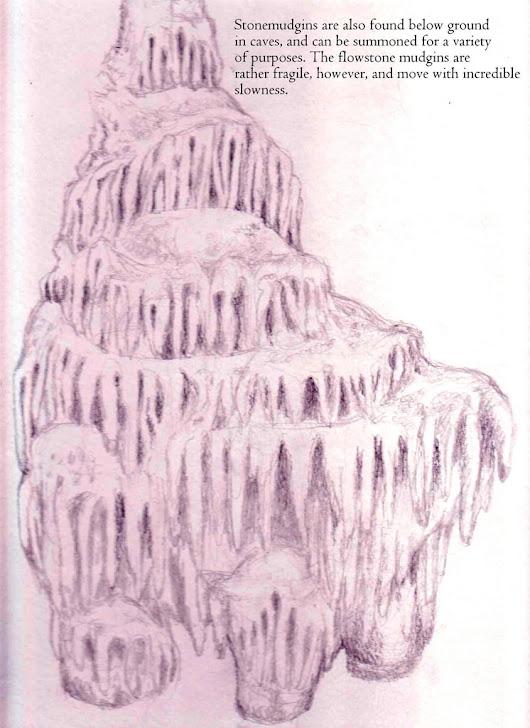 A Flowstone Spirit