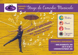Stage de Comédie Musicale - Enfants & Adolescents - Toussaint 2017
