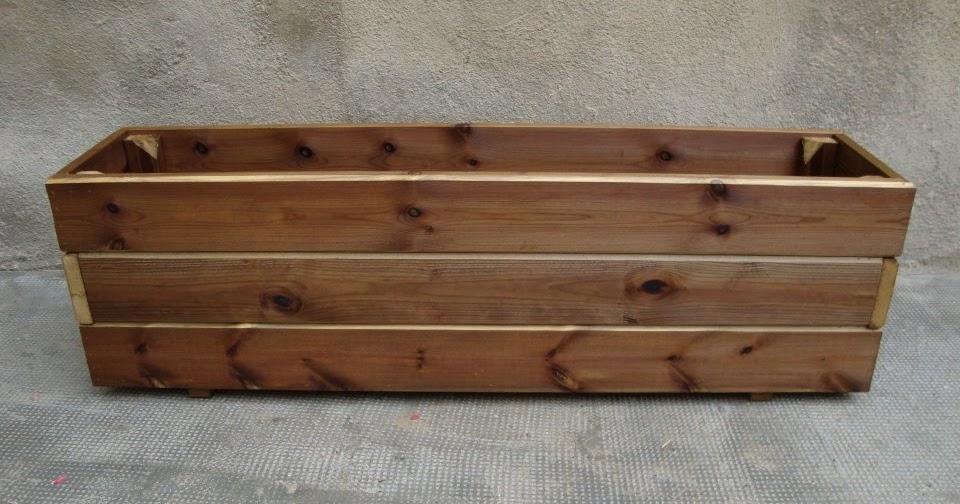 Jardineras de madera jardineras de madera tratadas para - Jardineras baratas online ...