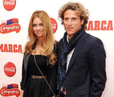 Diego Forlan y Zaira Nara se casan