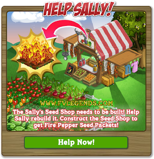FarmVille Help Sally With Sally's Seed Shop