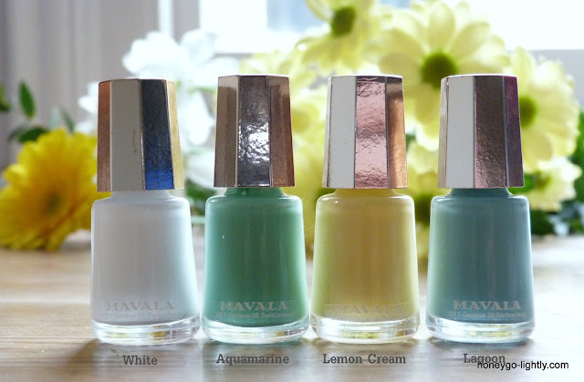 spring summer nail polishes