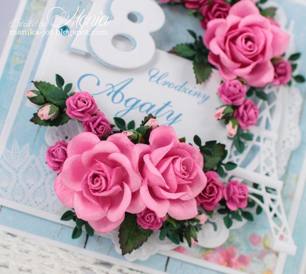 Wild Orchid Crafts 18th Birthday Card