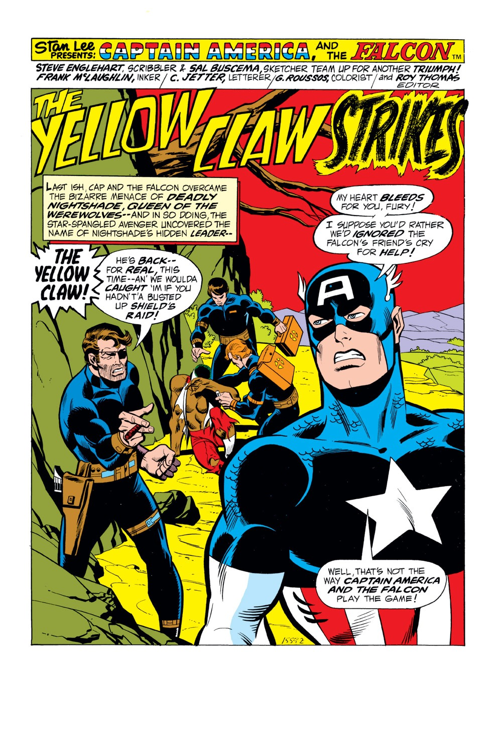 Captain America (1968) Issue #165 #79 - English 2