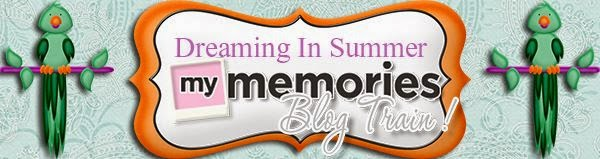 Blog Train Banner created by CutiePie Scraps