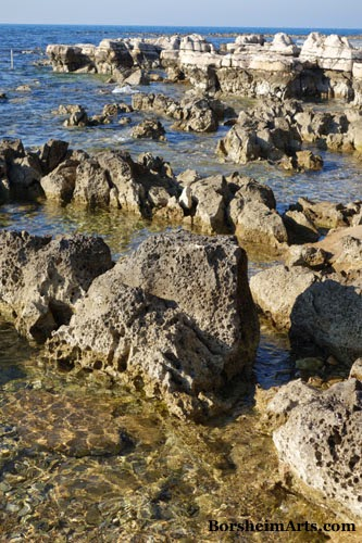 Adriatic Sea Umag Croatia Rocky Beach