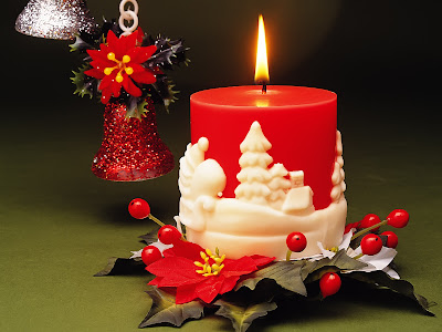 wallpapers navideños con adornos y decoraciones