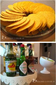 Jantar temático mexicano