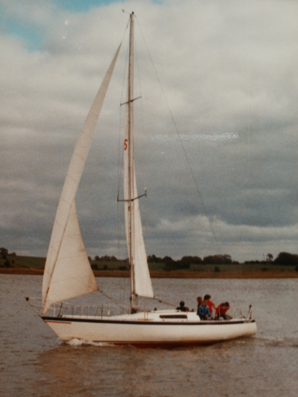 Shockwave40 Ragtime Three Quarter Ton IOR Yacht