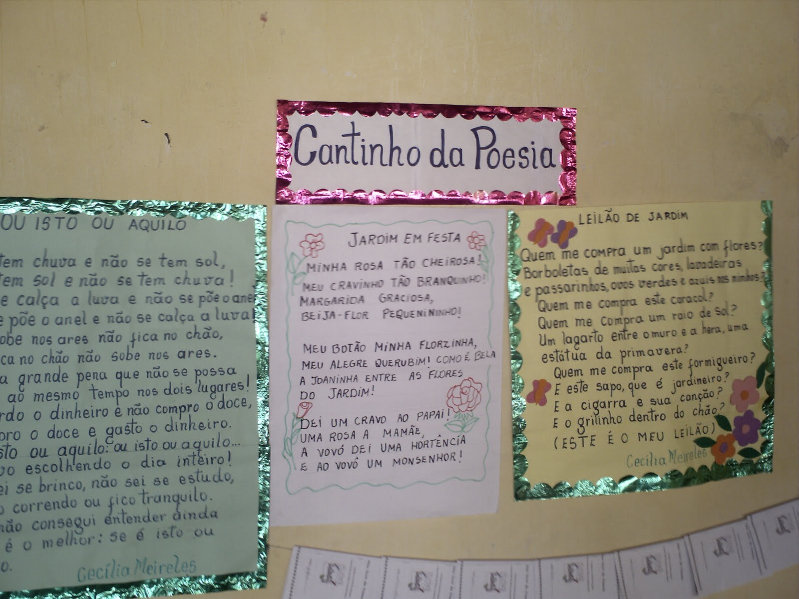 Poesia na aula de leitura