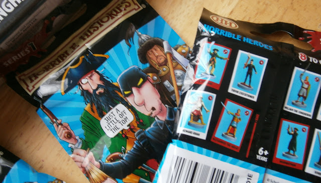 horrible histories blind booster pack single figures
