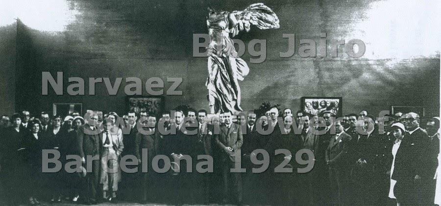 Joaquín Ventallò i Vergès. Estuvo en el acto de inauguración del la Colonia. 18 de Junio de 1933.
