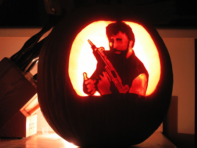 Chuck Norris Halloween