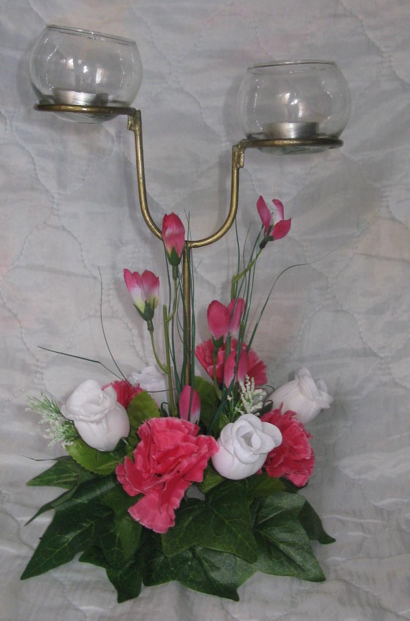Centros de mesa para bautizo con velas centros de mesa - Centros de mesa con velas ...