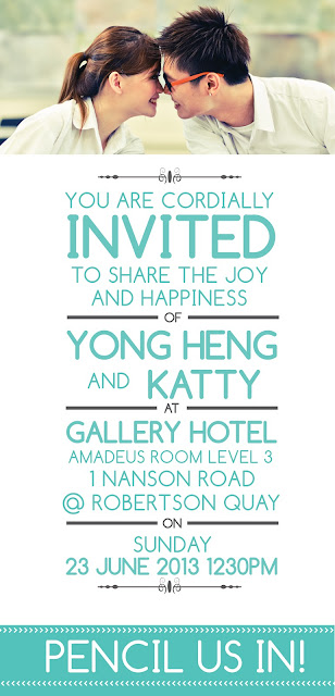 Invitation Cards Katty Tan