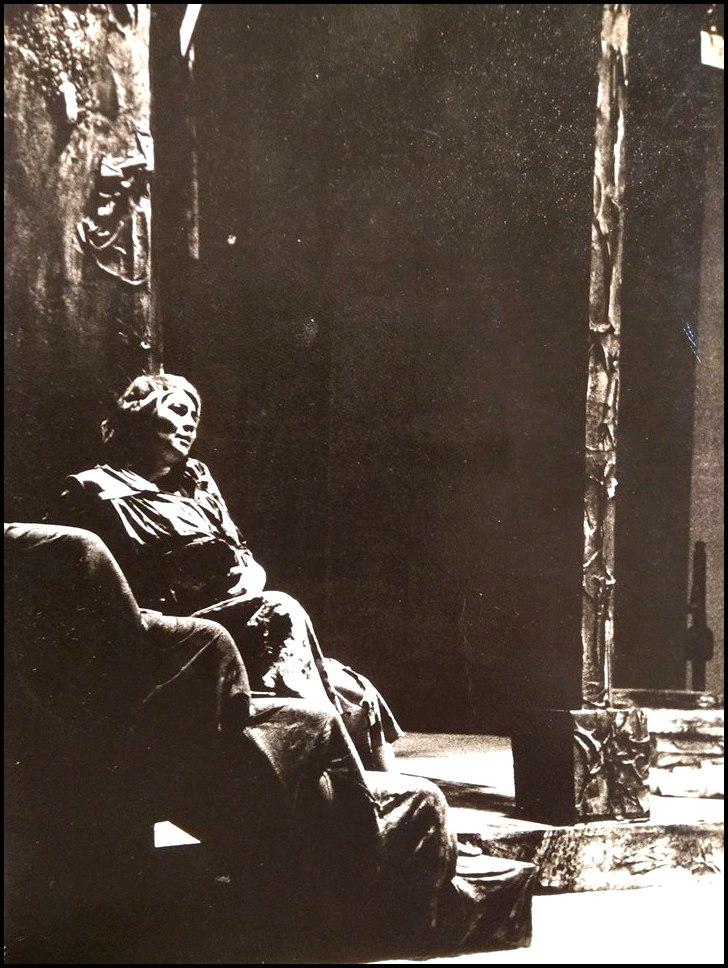 EL HUECO DE LA TRISTEZA, dirección Carlos Giménez, con la Comedia Cordobesa, 1968-69