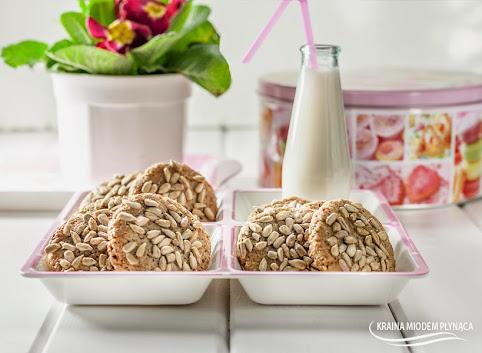 Słonecznikowe ciasteczka- 3 składnikowe