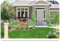 Model desain taman depan rumah minimalis