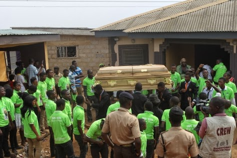 segun okeowo buried