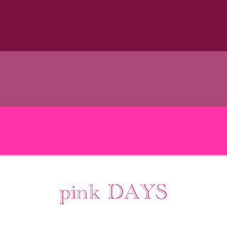 pink DAYS BeckyCharms & Co. Logo Graphic Design Sample Example