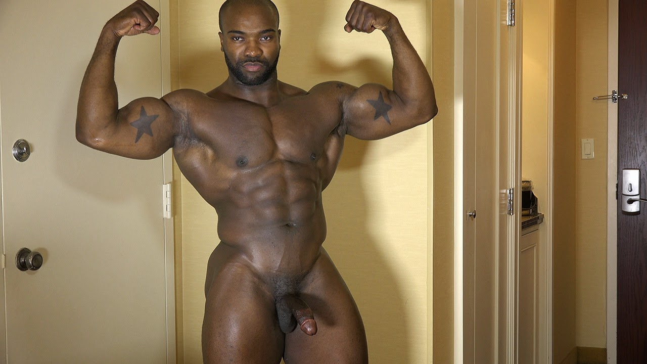roman black naked