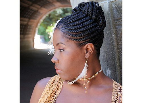 Cornrow Braid Hairstyles Black Women