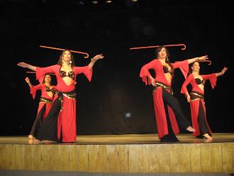 Festival de Danza del Vientre, Santiago, julio 7 de 2012
