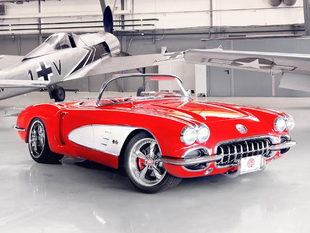 シボレー・コルベット C1型(1954年-1962年)