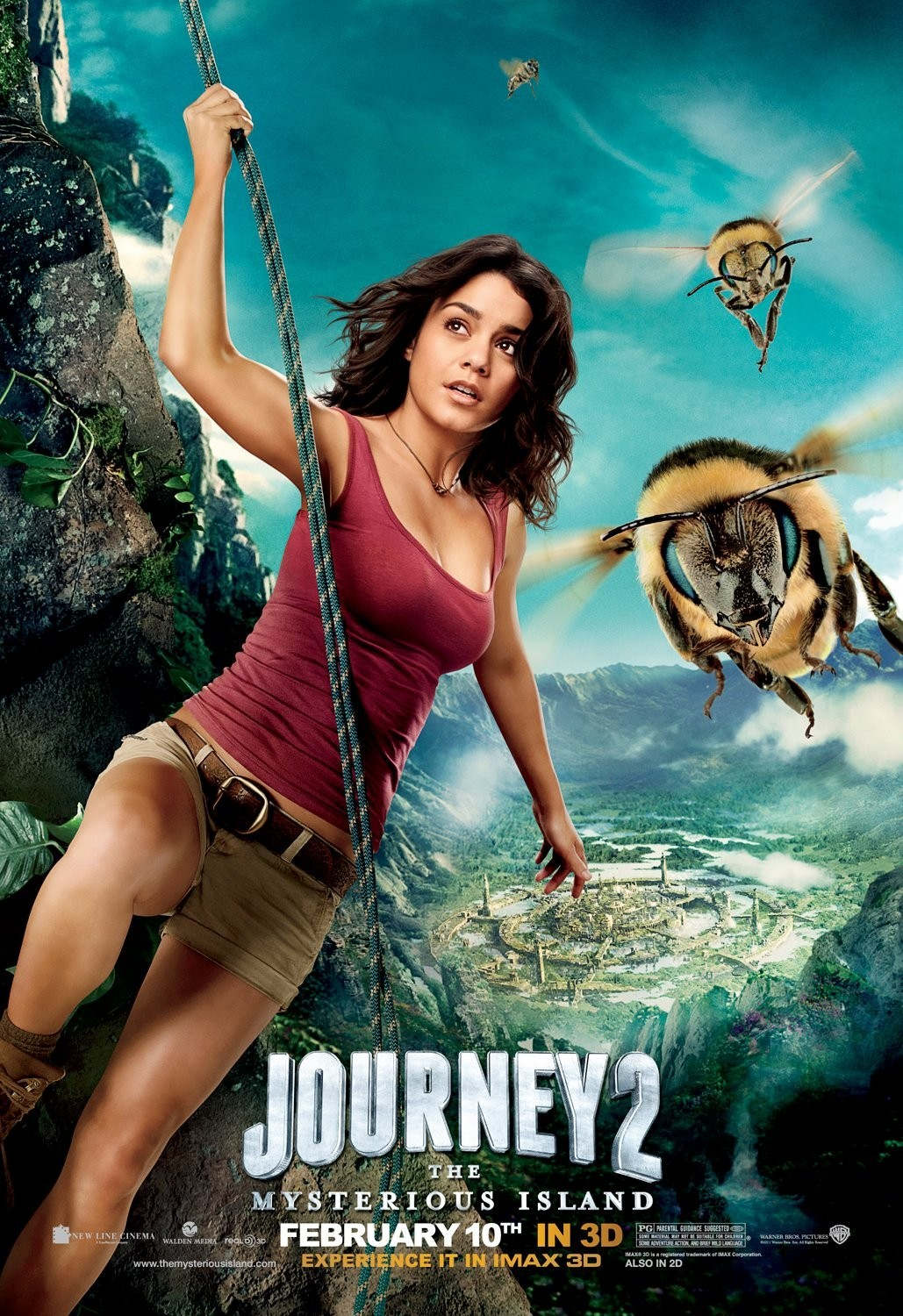The Single-Minded Movie Blog: <b>Journey 2</b>: The <b>Mysterious Island</b> (