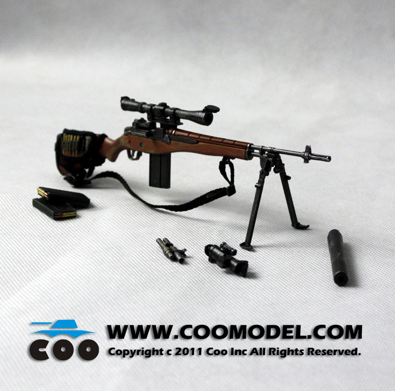 toyhaven: CooModel U.S. Military M14 Sniper Rifle PREVIEW M14 Sniper Rifle Usmc