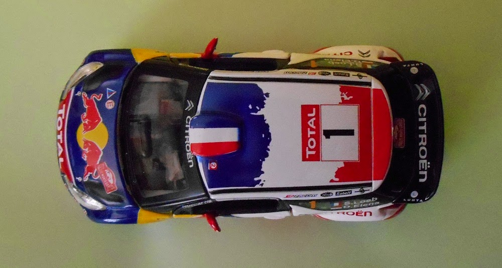 burago die cast model car citroen DS3 WRC