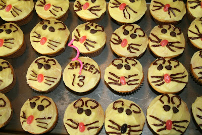 Rat themed cupcakes