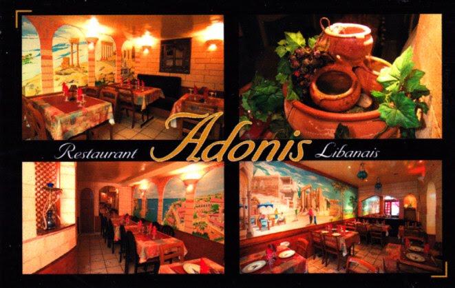 Adonis à rennes cartes de visite hôtels restaurants et
