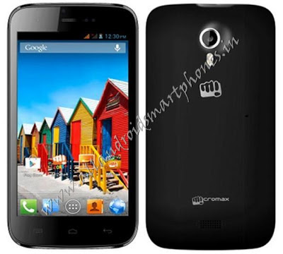Micromax A115 Canvas 3D Black 5 inch Phablet Images & Photos