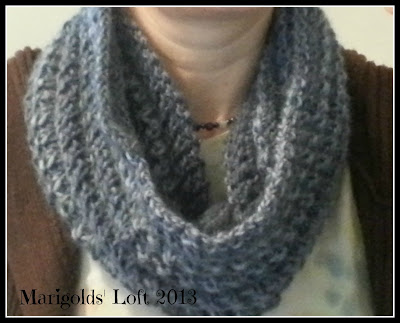 test cowl pattern