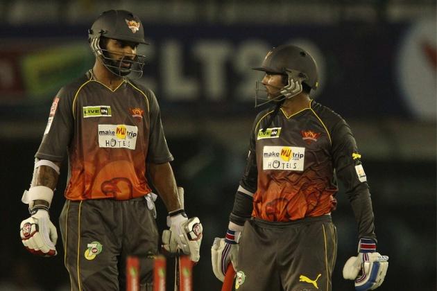 Sikhar-Dhawan-Parthiv-Patel-Sunrisers -Hyderabad-vs-Kandurata-Maroons-CLT20-2013
