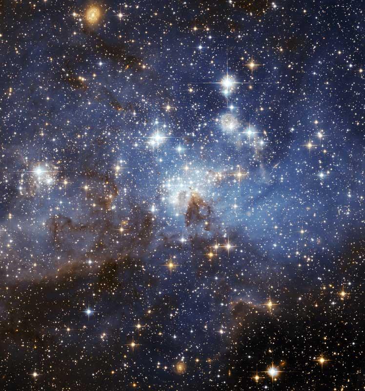 Galaxias, estrellas y planetas del Universo se formaron desde el Big Bang