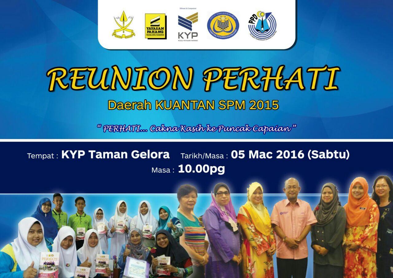 Reunion PERHATI PPD Kuantan
