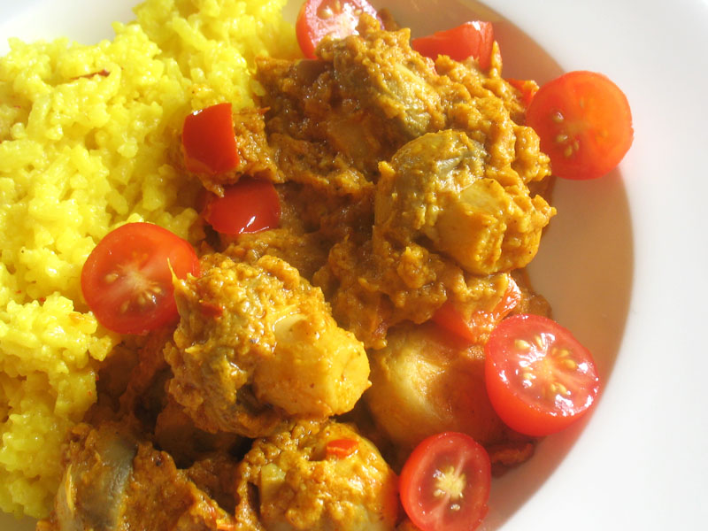Mushroom Tikka Masala | Lisa's Kitchen | Vegetarian ...