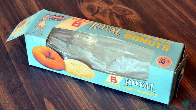 vintage donut box