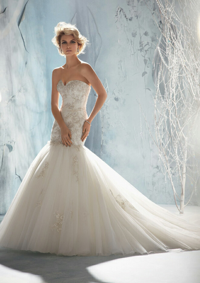 lamb & blonde: Wedding Wednesday: Mori Lee Fall 21013 Collection