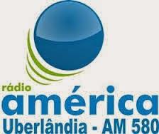 ouvir a Rádio América AM 580,0 Uberlândia MG