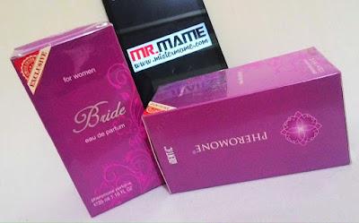 Ready Stock Jual Parfum Pheromone Bride Untuk Wanita by Identic Pheromone dengan Harga Termurah
