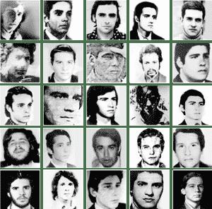 Colimbas Secuestrados y Desaparecidos