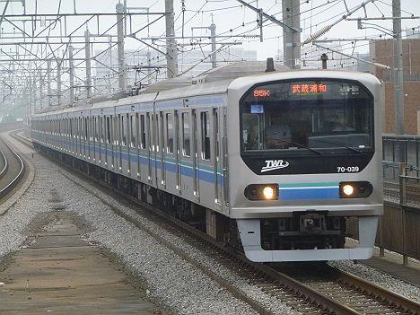 埼京線 各駅停車 武蔵浦和行き2 りんかい線70-000形