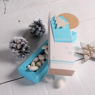 cajita bombones caramelos self packaging navidad decoración