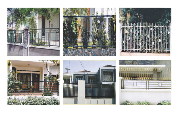 Contoh Gambar Pagar Rumah Minimalis