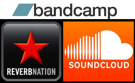 ReverbNation Soundcloud, Soundcloud Bandcamp, Bandcamp ReverbNation