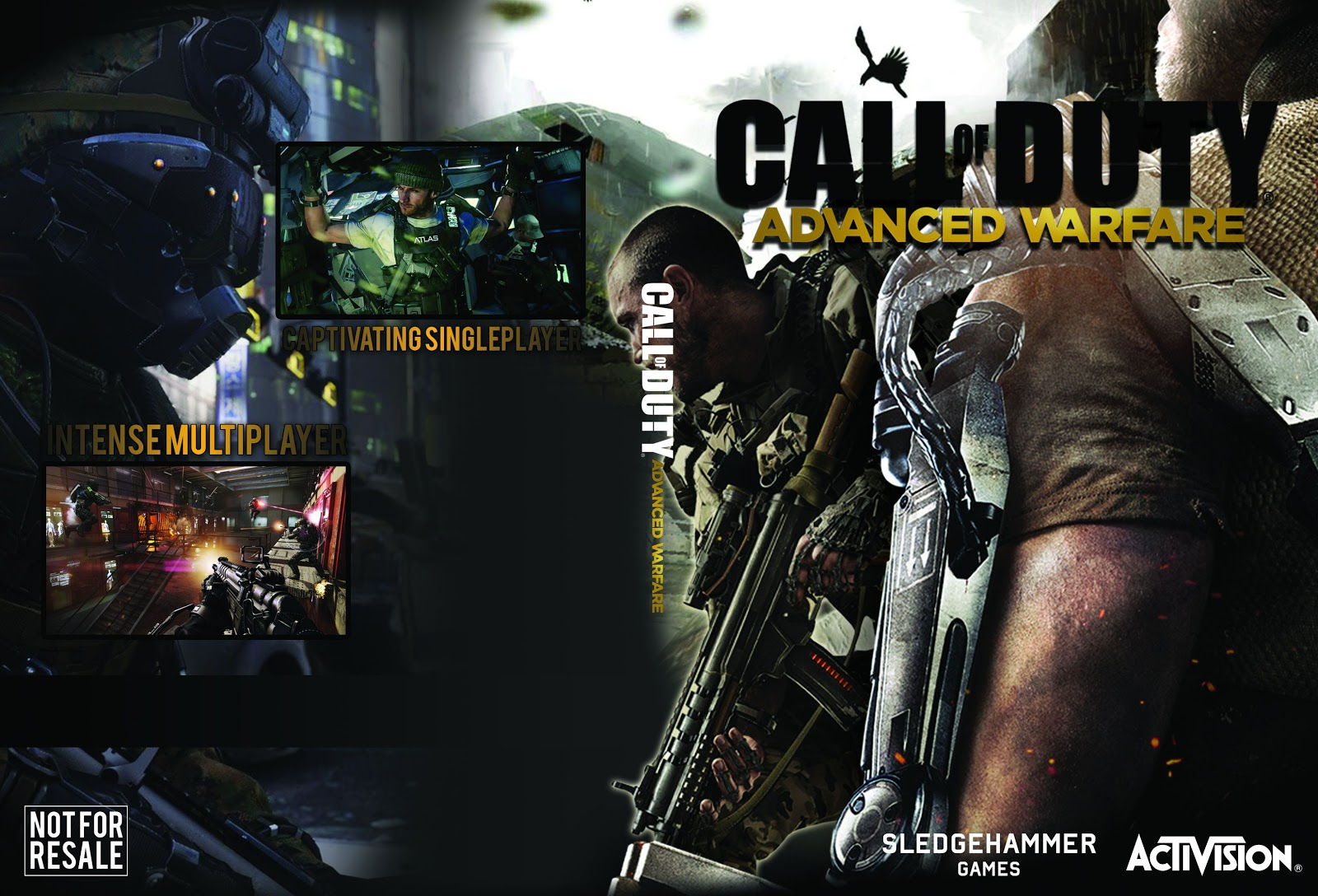 Capa Call Of Duty Advanced Warfare PC